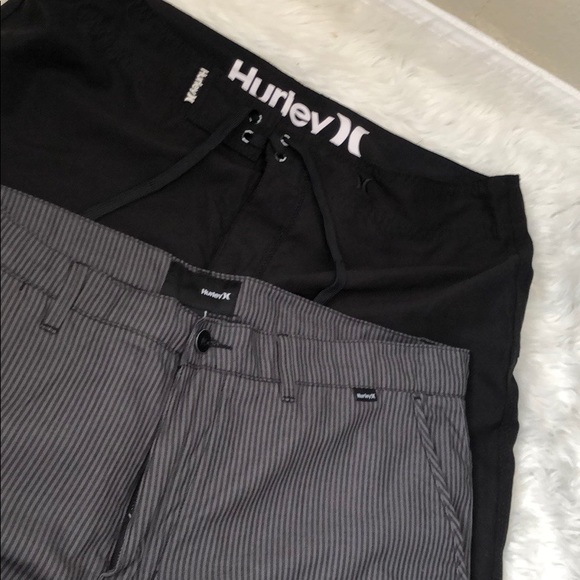 Hurley Other - 2 pieces Hurley Shorts